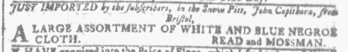 Aug 3 - 8:3:1768 Georgia Gazette
