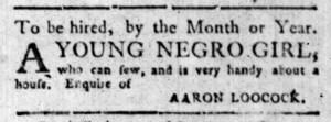 Oct 3 - South-Carolina Gazette Slavery 3