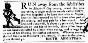 Sep 15 - Virginia Gazette Purdie and Dixon Slavery 7