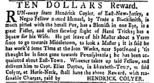 Sep 26 - New-York Gazette Weekly Mercury Supplement Slavery 2