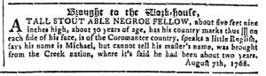 Sep 28 - Georgia Gazette Slavery 7
