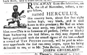 Nov 15 - South-Carolina Gazette and Country Journal Slavery 9
