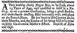 Nov 21 - Boston-Gazette Slavery 3