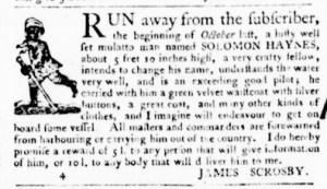 Nov 3 - Virginia Gazette Purdie and Dixon Slavery 6