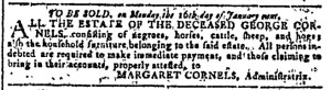 Nov 9 - Georgia Gazette Slavery 3
