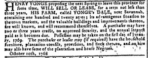 Oct 12 - Georgia Gazette Slavery 1