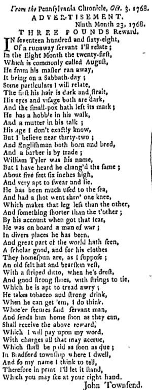 Oct 24 - 10:24:1768 Boston Evening-Post