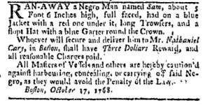 Oct 24 - Boston-Gazette Slavery 1