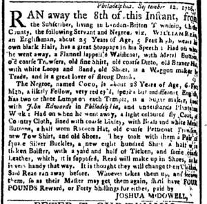 Oct 31 - New-York Gazette Weekly Post-Boy Slavery 2
