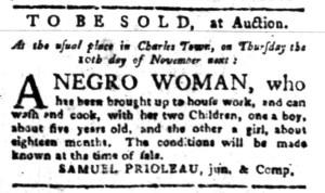 Oct 31 - South-Carolina Gazette Slavery 4