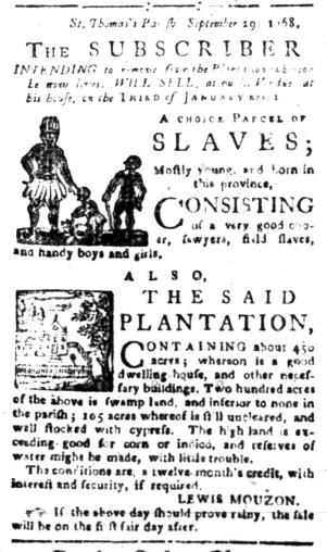 Oct 31 - South-Carolina Gazette Slavery 6