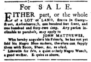 Oct 31 - South-Carolina Gazette Slavery 7