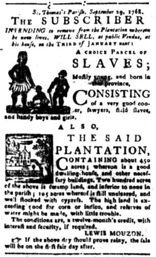 Dec 1 - South-Carolina Gazette Slavery 8