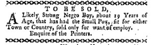 Nov 28 - Boston-Gazette Slavery 2