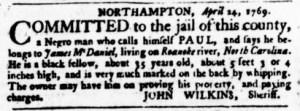 May 11 - Virginia Gazette Purdie and Dixon Slavery 5