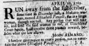 May 11 - Virginia Gazette Rind Slavery 2