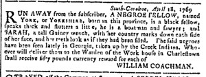 May 17 - Georgia Gazette Slavery 7