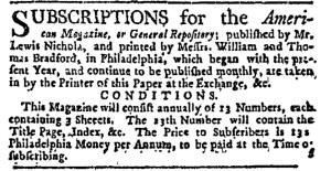 May 18 - 5:18:1769 New-York Journal