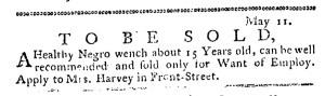 May 18 - Pennsylvania Journal Slavery 1