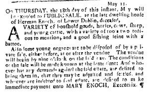 May 18 - Pennsylvania Journal Slavery 2