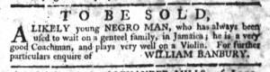 May 18 - South-Carolina Gazette Slavery 3