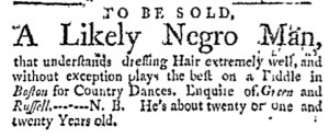 May 22 - Massachusetts Gazette Green and Russell Slavery 2