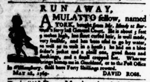 May 25 - Virginia Gazette Purdie and Dixon Slavery 3