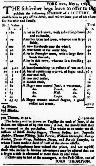 May 25 - Virginia Gazette Purdie and Dixon Slavery 4