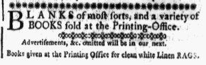 May 26 - 5:26:1769 Detail New-Hampshire Gazette