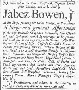 May 27 - 5:27:1769 Providence Gazette