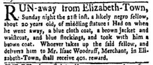 May 29 - New-York Gazette Weekly Mercury Slavery 2
