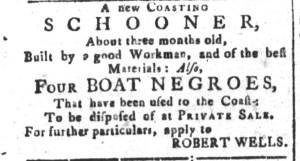May 29 - South-Carolina and American General Gazette Slavery 1
