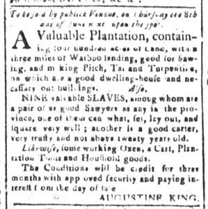 May 8 - South-Carolina and American General Gazette Slavery 2