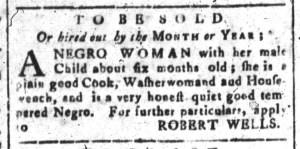 Jul 4 - South-Carolina and American General Gazette Slavery 4