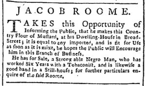 Jul 6 - New-York Chronicle Slavery 1