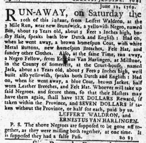 Jul 6 - New-York Journal Supplement Slavery 1