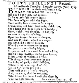 Jun 22 - 6:22:1769 Pennsylvania Gazette