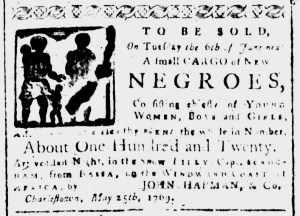 Jun 5 - South-Carolina and American General Gazette Slavery 4
