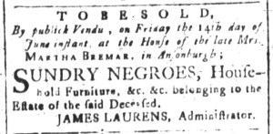 Jun 5 - South-Carolina and American General Gazette Slavery 8