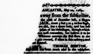 Jun 8 - Virginia Gazette Purdie and Dixon Slavery 6