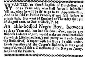 Aug 7 - Boston-Gazette Slavery 2
