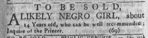Aug 7 - Newport Mercury Slavery 1