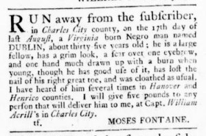 Jul 13 - Virginia Gazette Rind Slavery 7