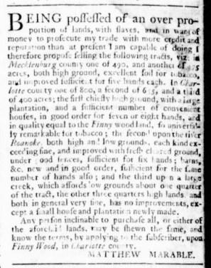 Jul 13 - Virginia Gazette Rind Slavery 9