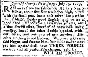 Jul 24 - Pennsylvania Chronicle Slavery 1