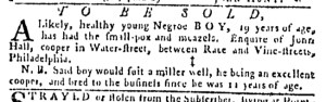 Jul 27 - Pennsylvania Gazette Slavery 7