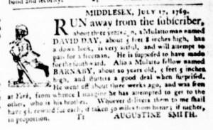 Jul 27 - Virginia Gazette Purdie and Dixon Slavery 3