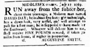 Jul 27 - Virginia Gazette Rind Slavery 6