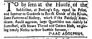 Jul 30 - 7:24:1769 New-York Gazette Weekly Mercury