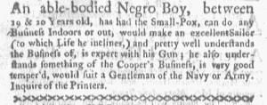 Jul 31 - Boston-Gazette Slavery 2